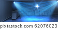 interior background with empty dance floor 62076023