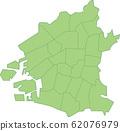 Osaka Map 62076979