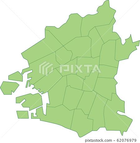 大阪市地圖 62076979