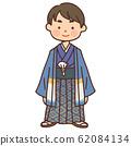 穿和服的男孩 62084134