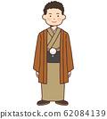 Men wearing kimonos 62084139