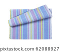 Colorful striped cotton placemat 62088927