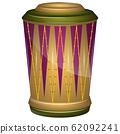 Isolated colored conga 62092241