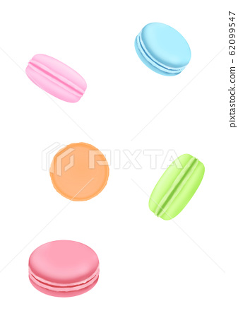 Macaroons colorful 62099547