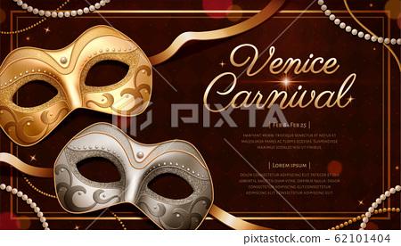 Venice carnival template design 62101404