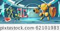 Artificial intelligence rebellion concept 62101983