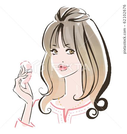 春季彩妆健康肌肤 62102676