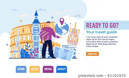 Tour and Personal Guide Selection Landing Page 62102970