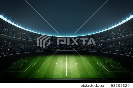 足球體育場2矢量圖 62103820