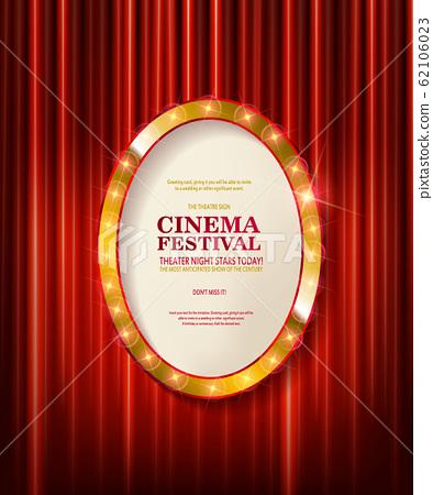Cinema festival. Theater sign 62106023