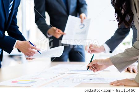 在辦公室的業務人會議 62111460