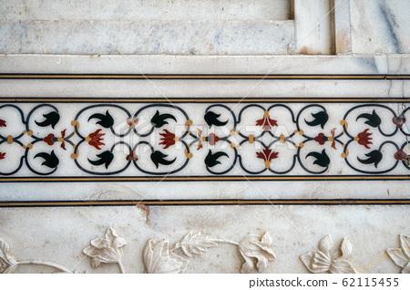 taj mahal wall details 62115455