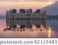 jal mahal water palace sunrise 62115483