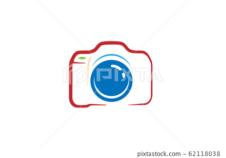 Creative Abstract Camera Logo Design Symbol Vector 62118038