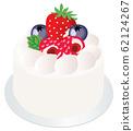 Shortcake strawberry_maru 01 fresh cream 62124267