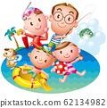 가족 여름 리조트 62134982