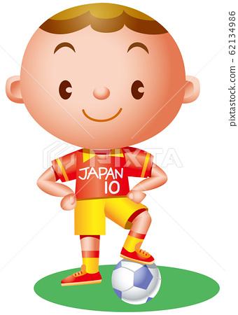 一個足球男孩 62134986