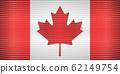 Shiny Grunge flag of the Canada 62149754