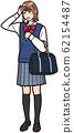 發燒的高中女生 62154487