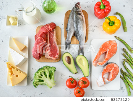 Food for ketogenic diet 62172129