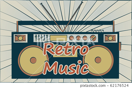old vintage retro hipster stylish music audio  62176524