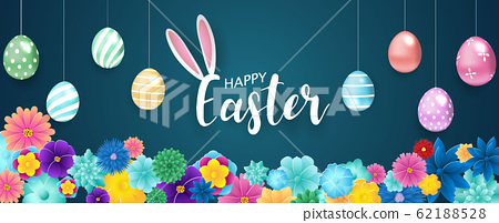 Happy Easter background. 62188528