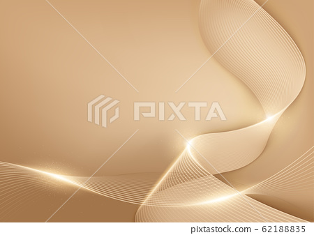 Gold Pastel Lines Abstract Background 62188835