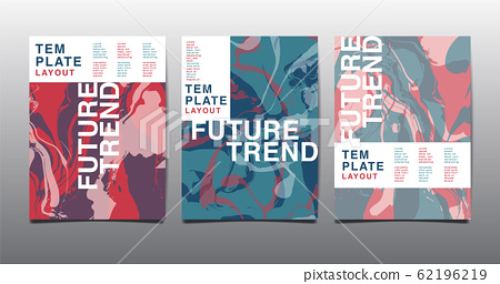 Modern design A4, Abstract marble texture , colored bright liquid, design presentations, print, flyer, business cards, invitations, packaging, cover. 62196219
