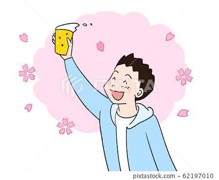 Cherry-blossom beer 1 62197010