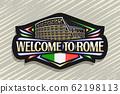 Vector logo for Rome 62198113