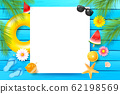 Abstract background with summer element 001 62198569