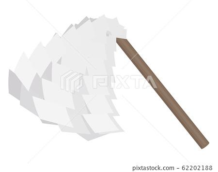 Exorcism stick illustration 62202188