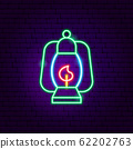 Camping Lamp Neon Sign 62202763