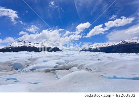 Walking on Perito Moreno glacier Patagonia, 62203832