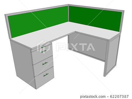 office desk 62207387