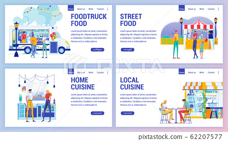 Home and Local Cuisine, Foodtruck and Street Food. 62207577