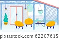 House Terrace or Balcony Interior and Furniture. 62207615
