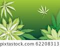 Paper cut Medical marijuana or cannabis leafs logo 62208313