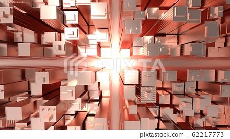 Buildings, copper, urban, buildings, urban image, redevelopment, CG, 16: 9, metal 62217773