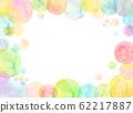 水彩紋理彩虹顏色肥皂泡 62217887