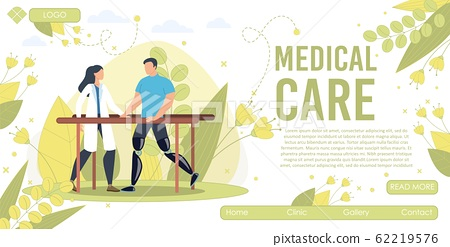 Physical Rehabilitation Service Vector Web banner 62219576