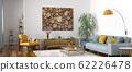 Interior design of modern scandinavian apartment, 62226478
