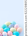 Easter easter egg hand made blue background dyed colored close-up easter eggs イ ー ス タ ー エ ッ グ 62229805