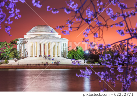 Washington DC, USA Skyline on the River 62232771