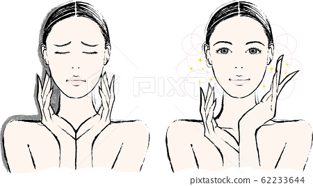 Female Upper Body Before After 62233644