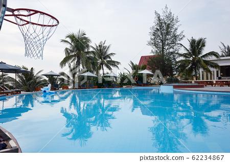 越南峴港市的度假勝地游泳池 62234867