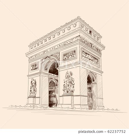 Figure Triumphal Arch. 62237752