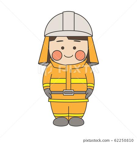 女角色消防員 62250810