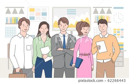 Teamwork People Working in Team Business Meeting 62266443