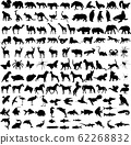 125 high quality diferent animals silhouettes 62268832